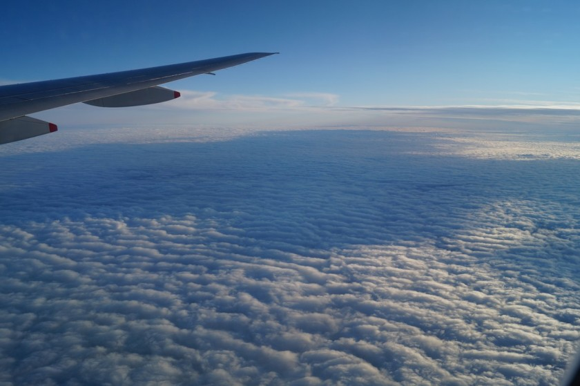 While closer to Melbourne, the sky was overcast, but no less beautiful.