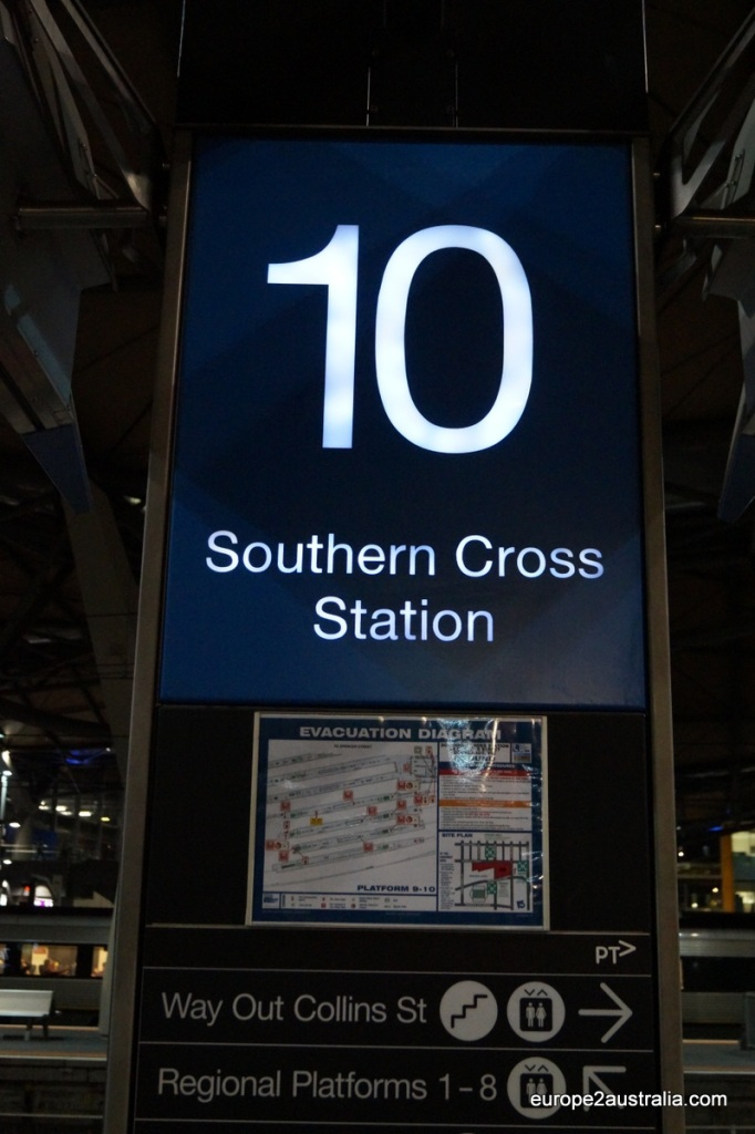 The trip from Southern Cross to Jordanville takes a little over half an hour.