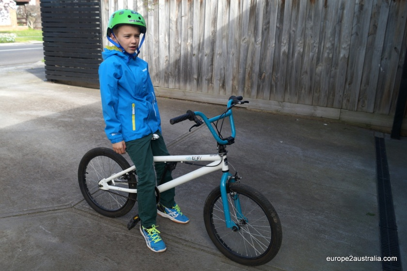 Kai on his 'new'-gumtree BMX