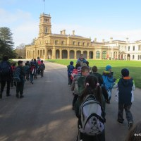 School excursion to Werribee Park