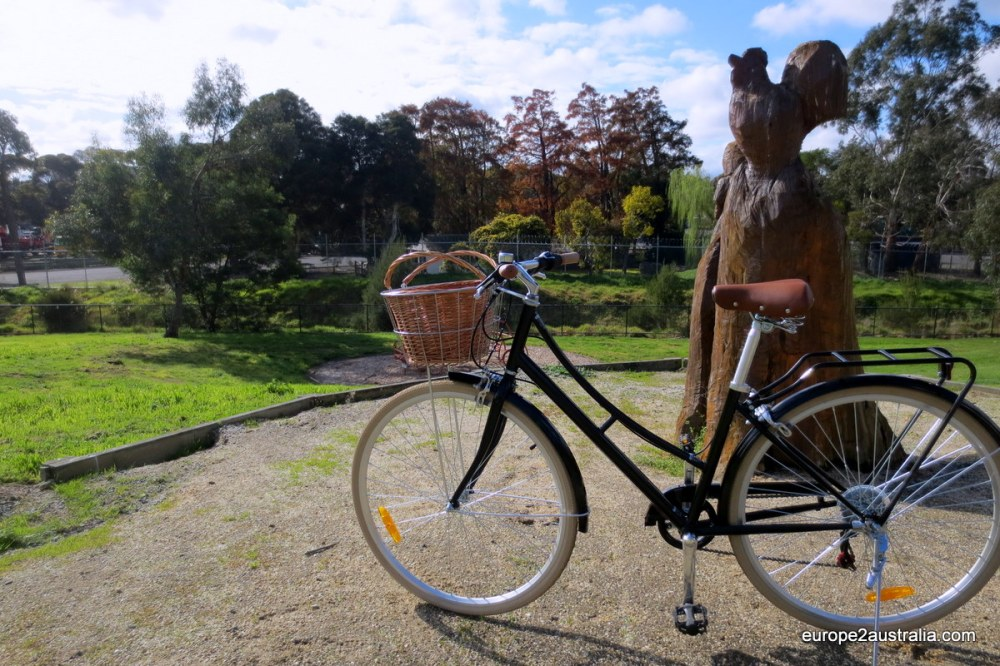 Typical Dutch bike in Melbourne