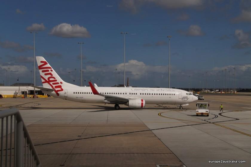 Flight to Brisbane