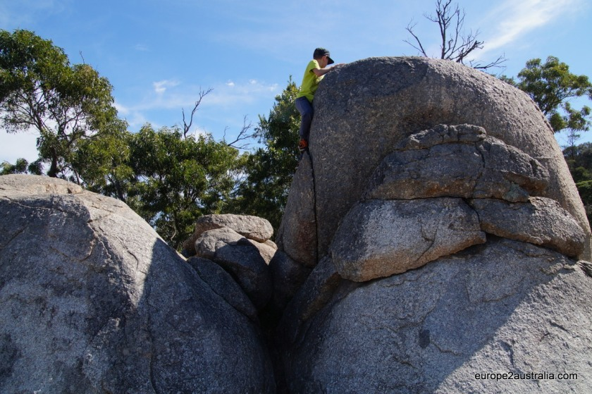Impressive rocks at You Yangs