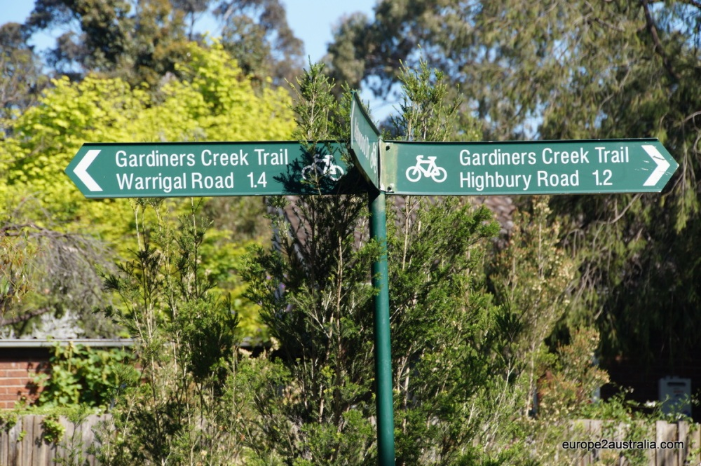 Gardiners Creek Trail