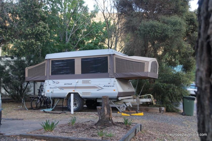 Extendable caravans