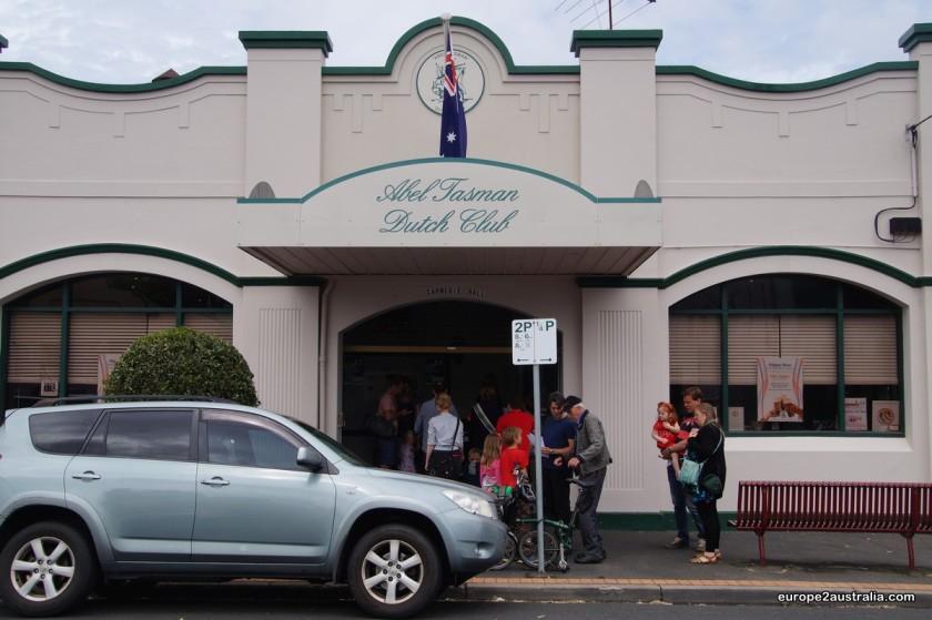 The Abel Tasman Dutch Club, or Dutchie, was playing host for Sint.