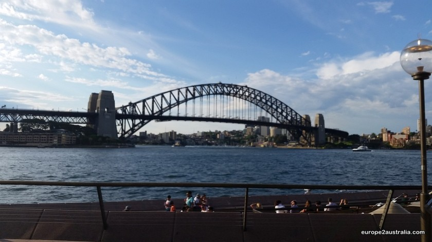Harbour Bridge. Also famous, but not to be found in London.