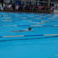 School swimming competition