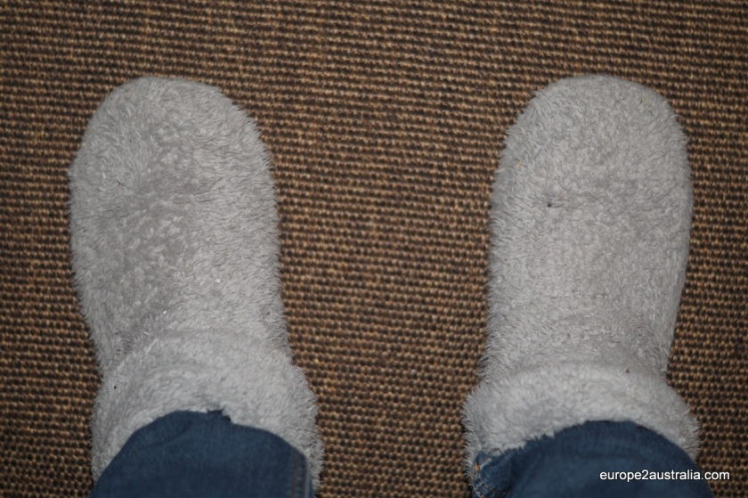 """""""They're nice and warm..."""""""