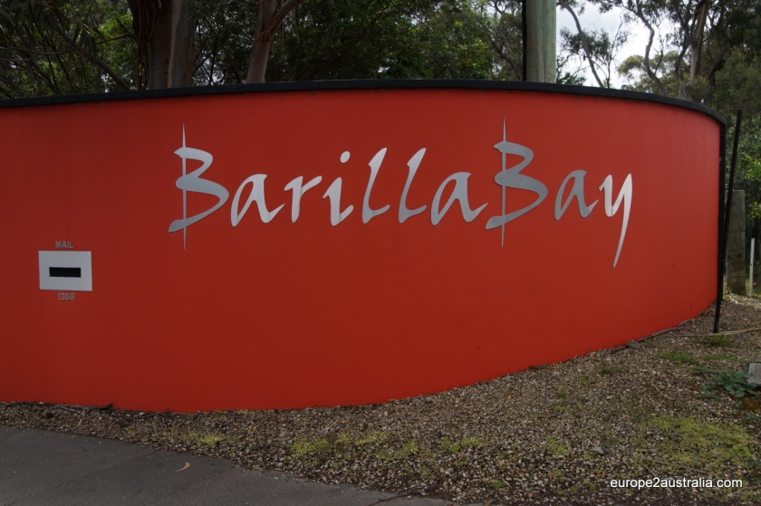 Barilla Bay specializes in oysters, abalone's and other seafood.