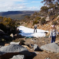 Our Australian snowball fight