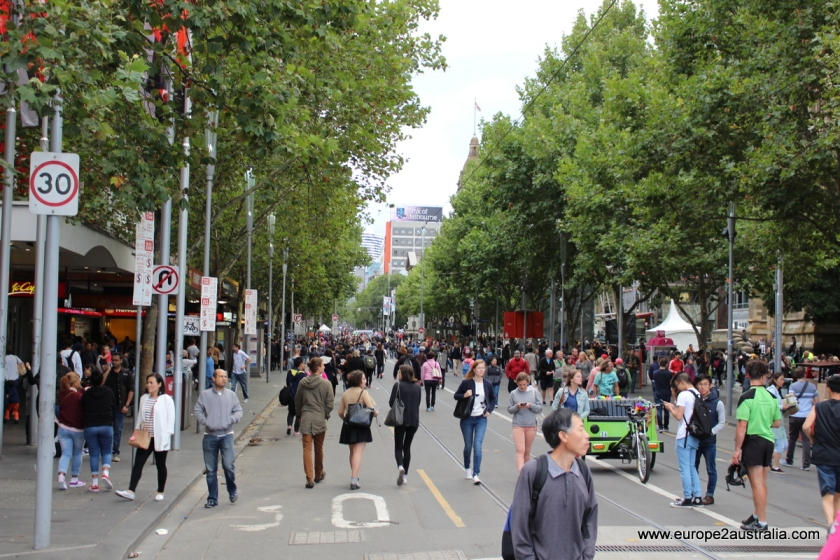 white-night-melbourne-walking-on-swanston-street