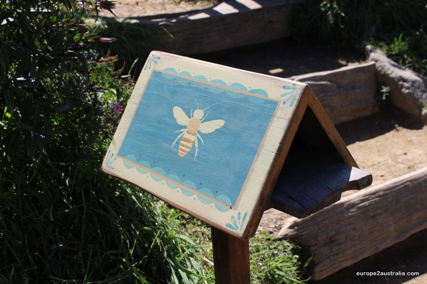 The honeymaker, for example, has a bee painted on his mailbox.