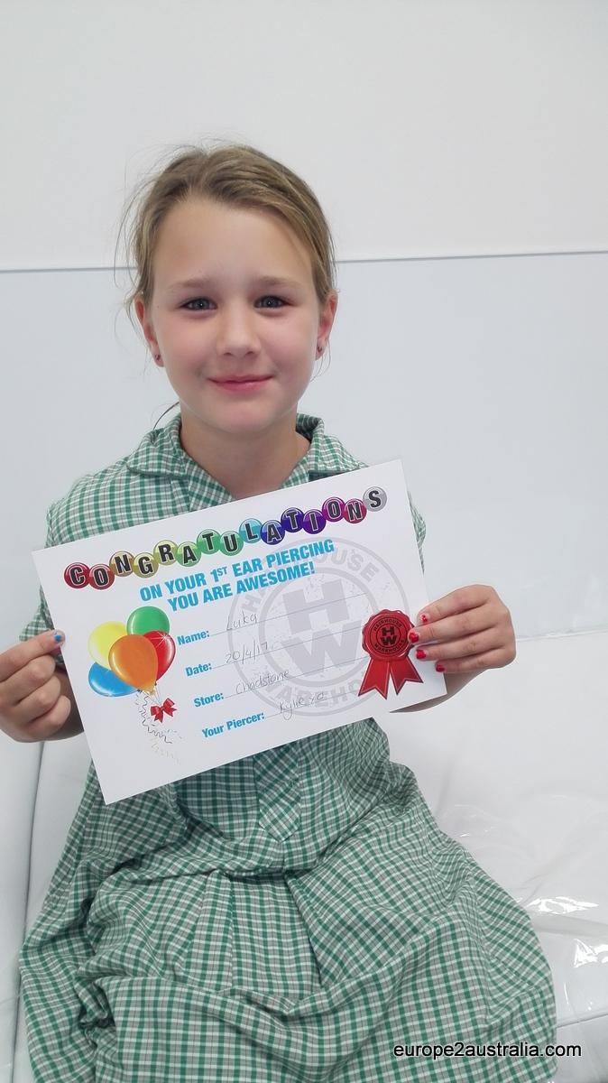 piercing-certificate