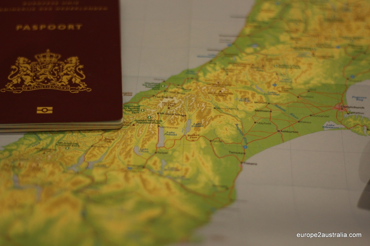 Renewing a Dutch passport in Australia
