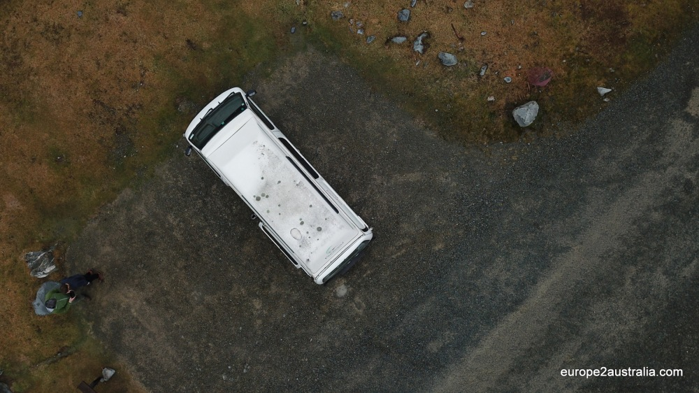 NZ Imperessions - Camper from above